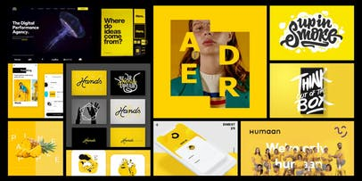 Marketplace Yellow Colour Moodboard.