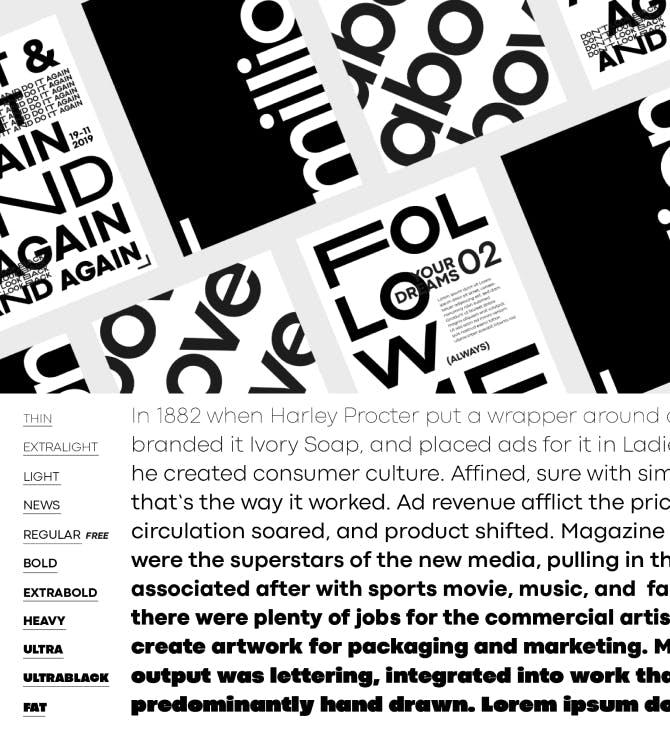 Codec Pro Typography Samples