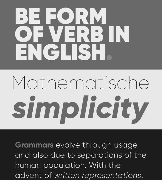 Gilroy Typography Samples